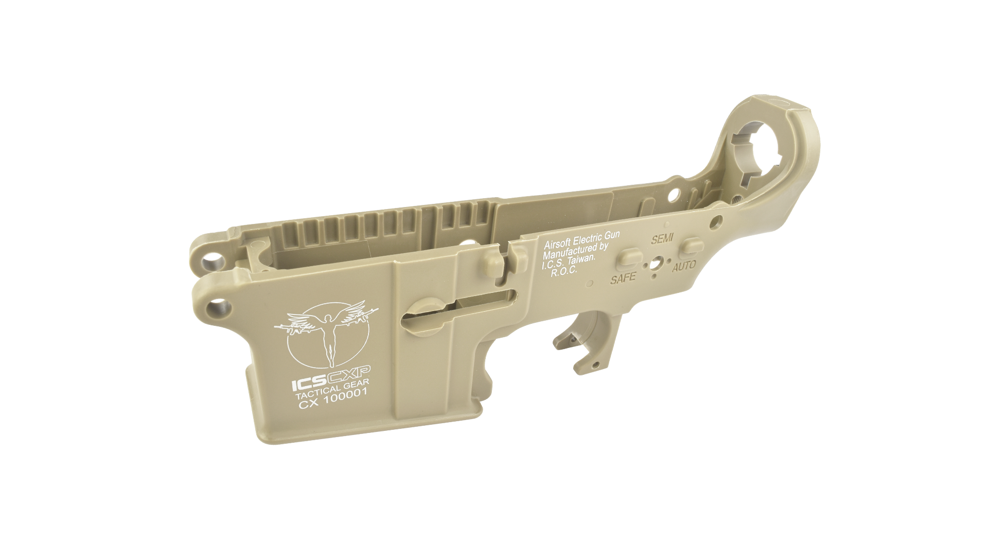【MA-351】CXP PLASTIC LOWER RECEIVER ASSEMBLY - TAN