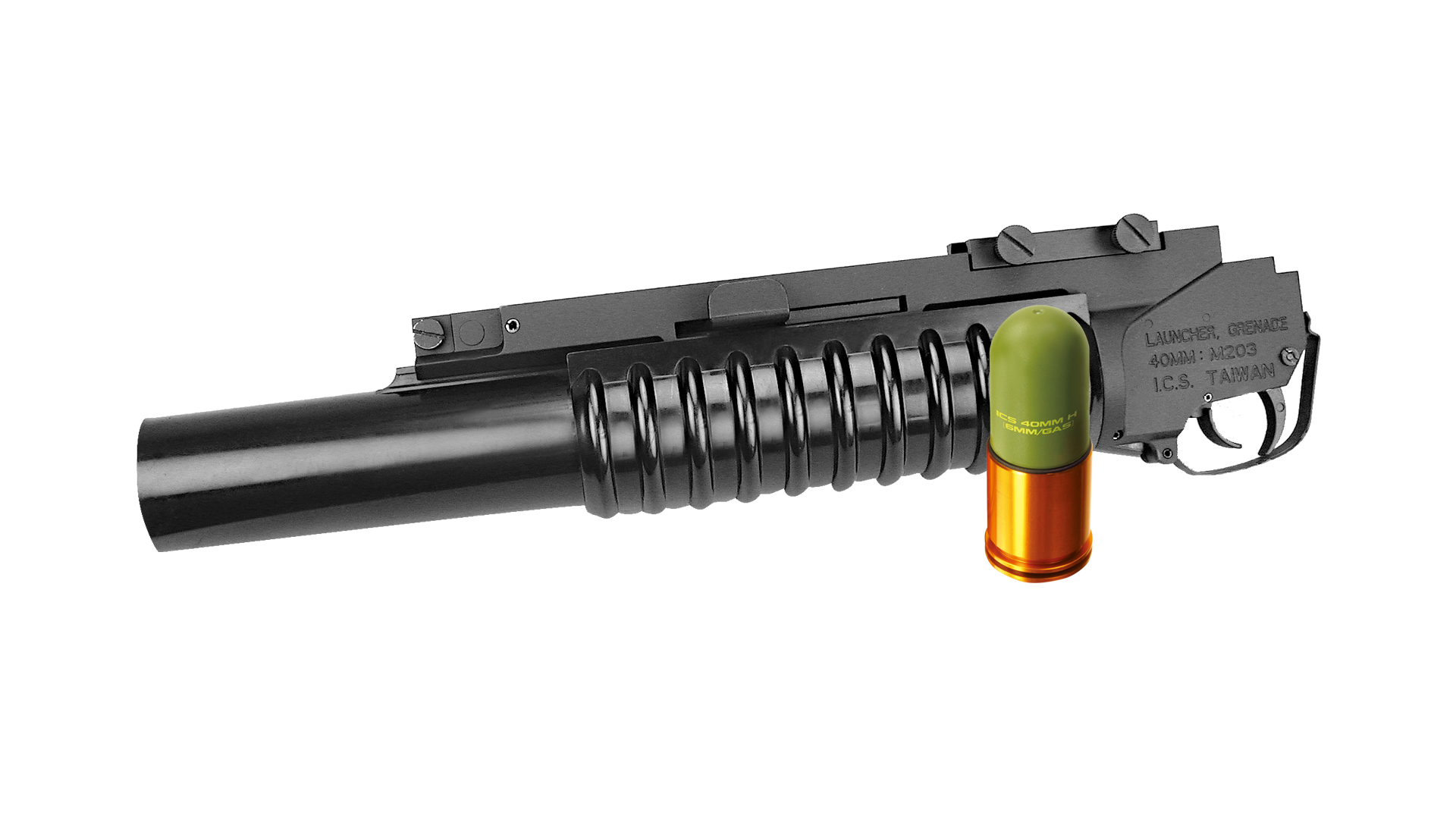 【Discontinued】【MA-159】M203 GRENADE LAUNCHER (Incl. One 40mm Lightweight Grenade)